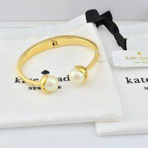 Kate Spade Pearl Spring Bracelet